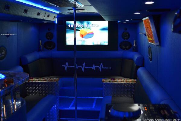 Prague Party bus