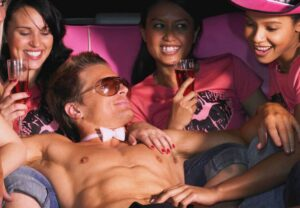 Prague Limo and male stripper
