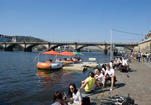 Prague Grill-Boat