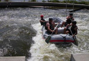 Prague whitewater rafting