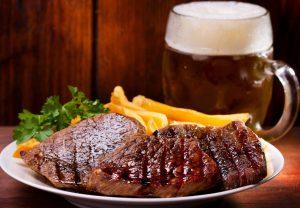 Prague steak and strip